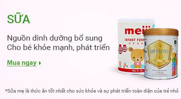 Sữa Nguồn dinh dưỡng bổ sung cho bé khỏe mạnh phát triển