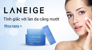Laneige - Tỉnh giấc với làn da căng mướt